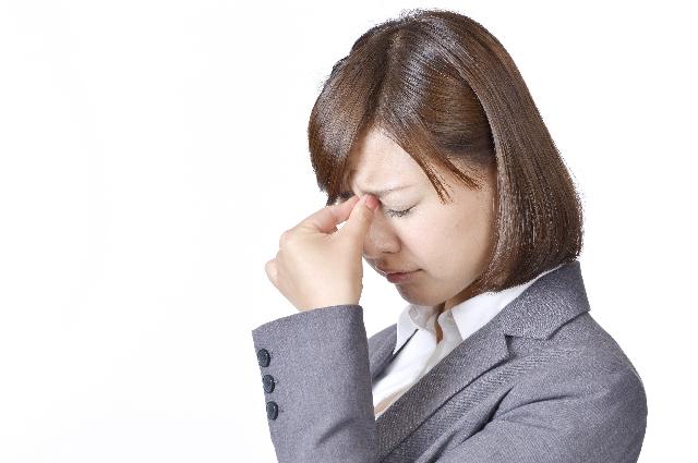 目の奥が痛い頭痛
